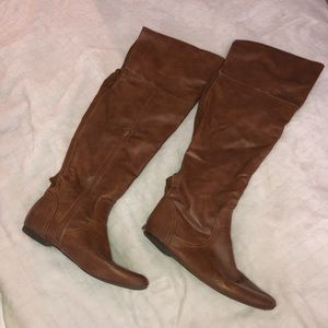 Bamboo Knee High Boots